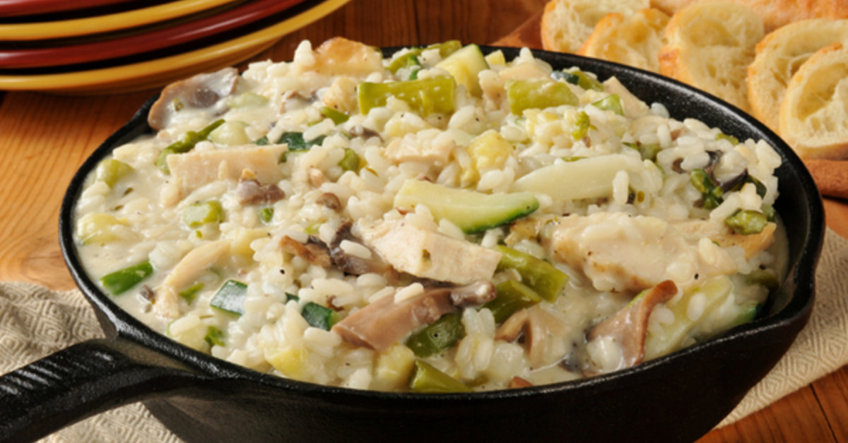 This Creamy Chicken And Rice Dinner Always Hits The Spot!