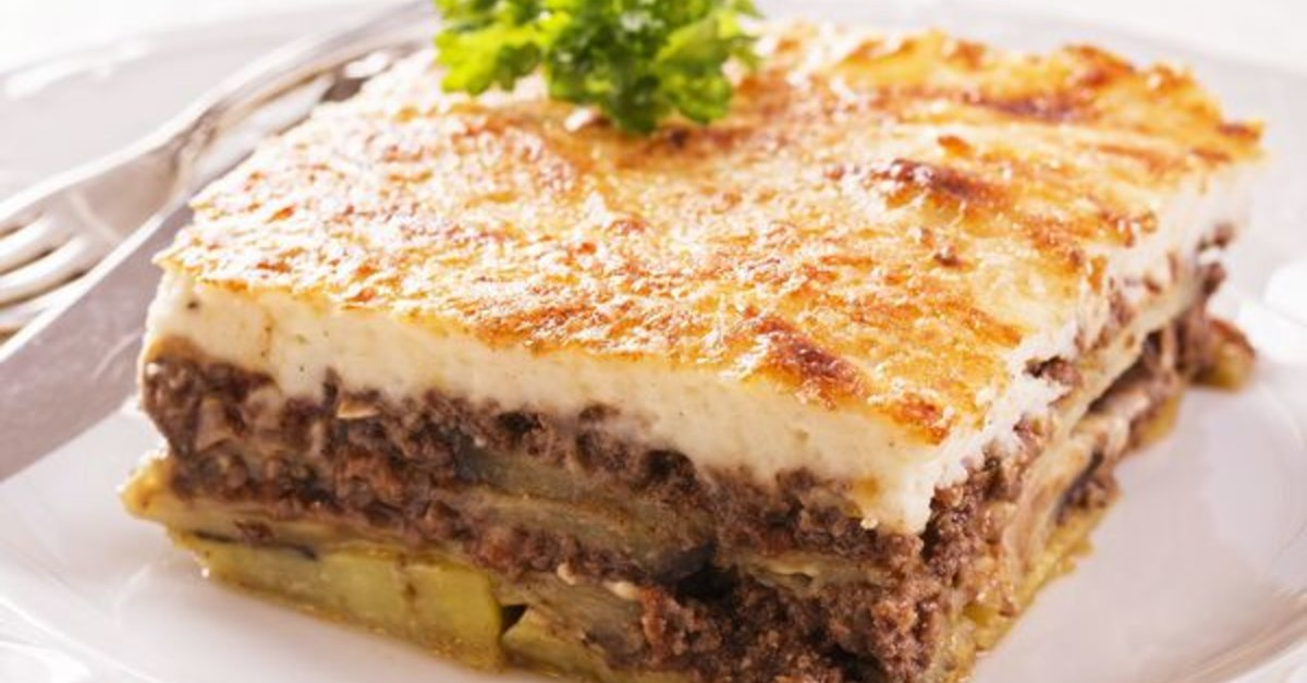 This Fantastic Greek Casserole Is Often Compared To Lasagna, Have You Tried It Yet?