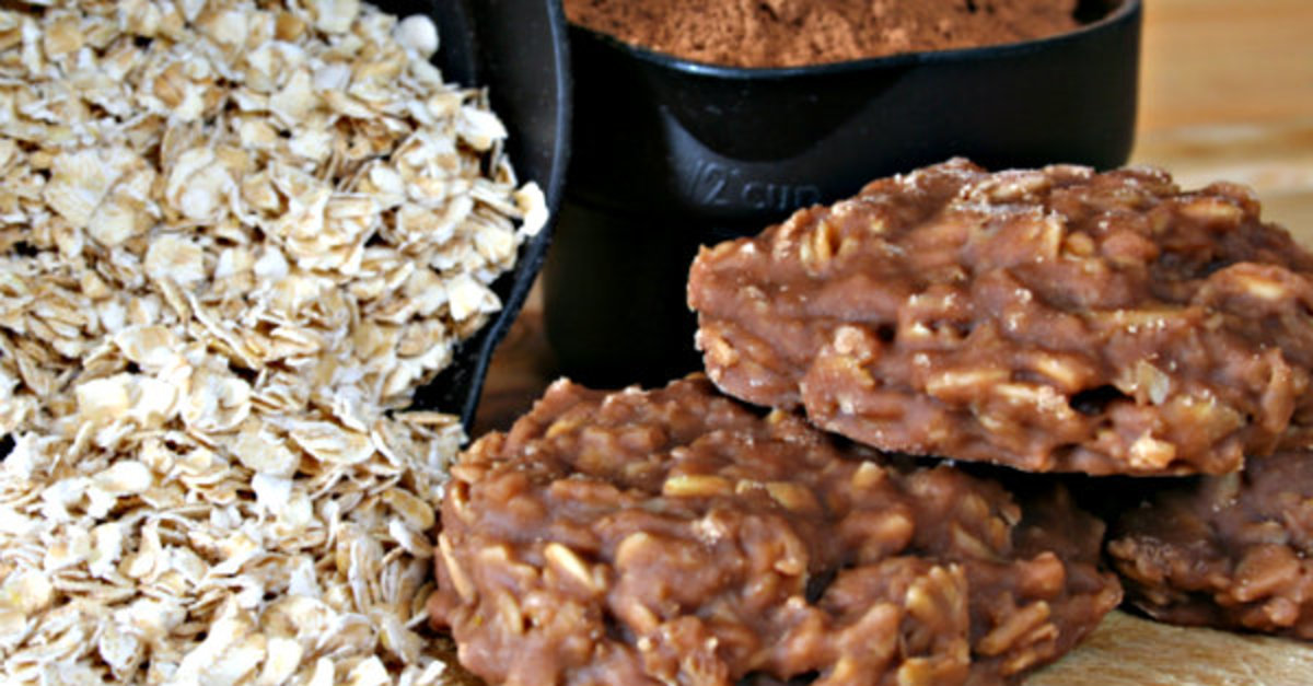 Classic No-Bake Chocolate Oat Cookies
