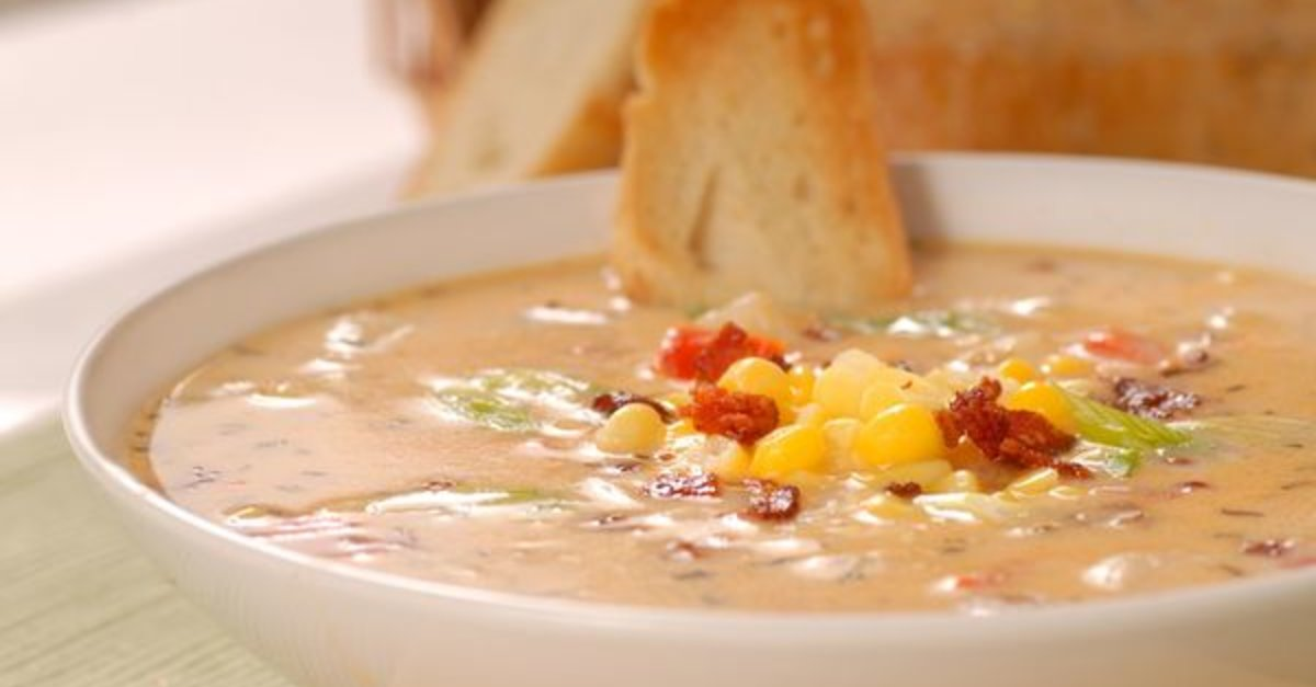 This Crunchy Bacon Chili Corn Chowder Recipe Never Disappoints!