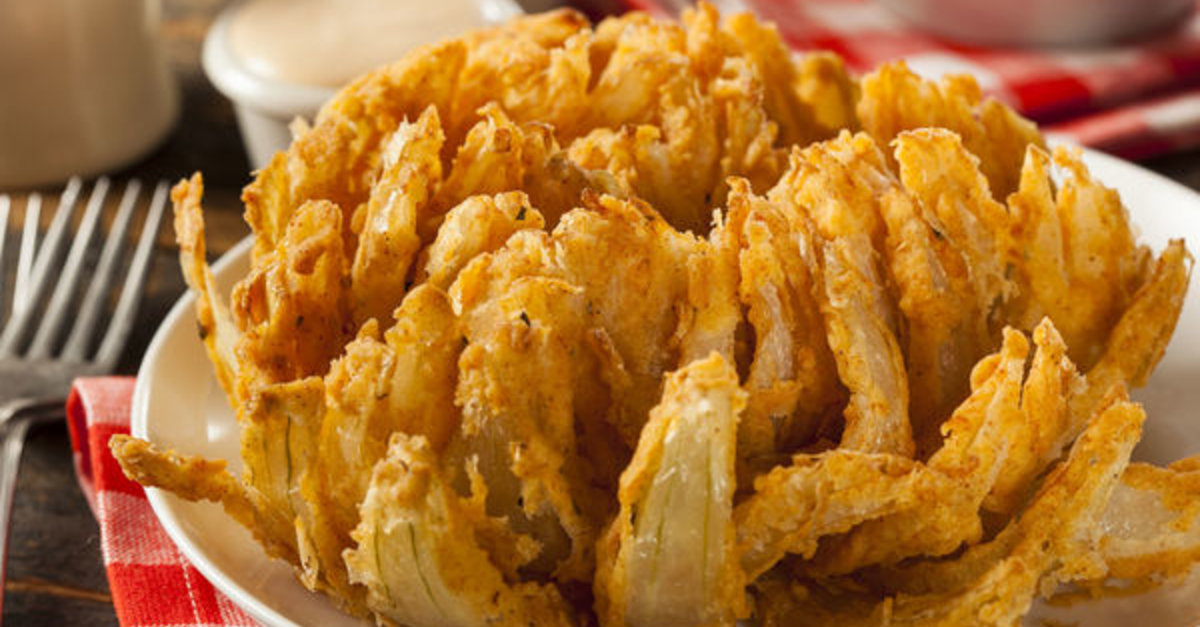 Making A Classic Blooming Onion At Home Is A Lot Easier Than You Might Think! Guests Are Always Impressed!