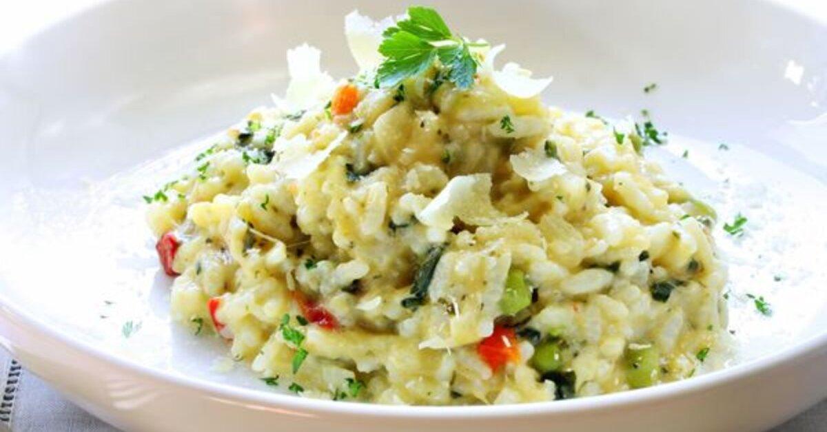 Vegetarian Recipe: Creamy Veggie Risotto