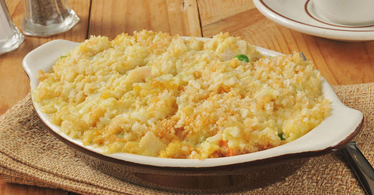 This Creamy Chicken And Rice Bake May Be Simple, But It Hits The Spot Every Time!