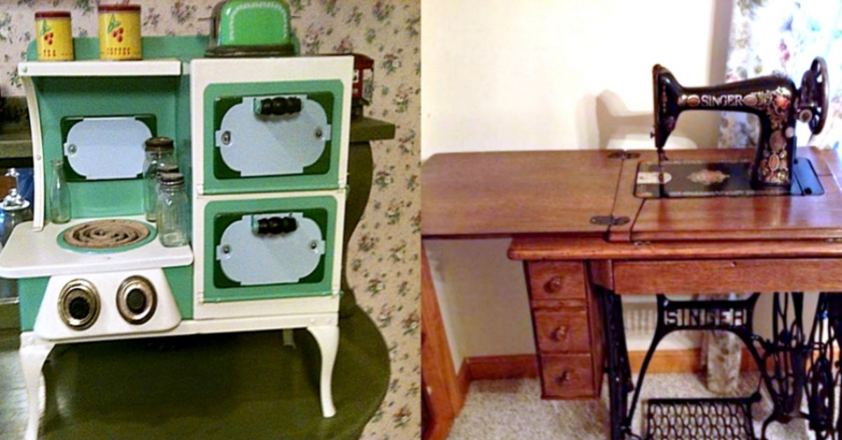 From Toys To Rockers See What These Antiques Look Like