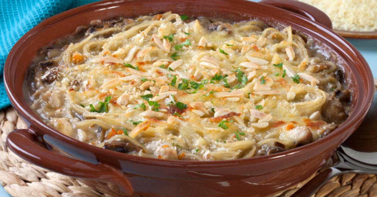 Chicken Tetrazzini Casserole 12 Tomatoes