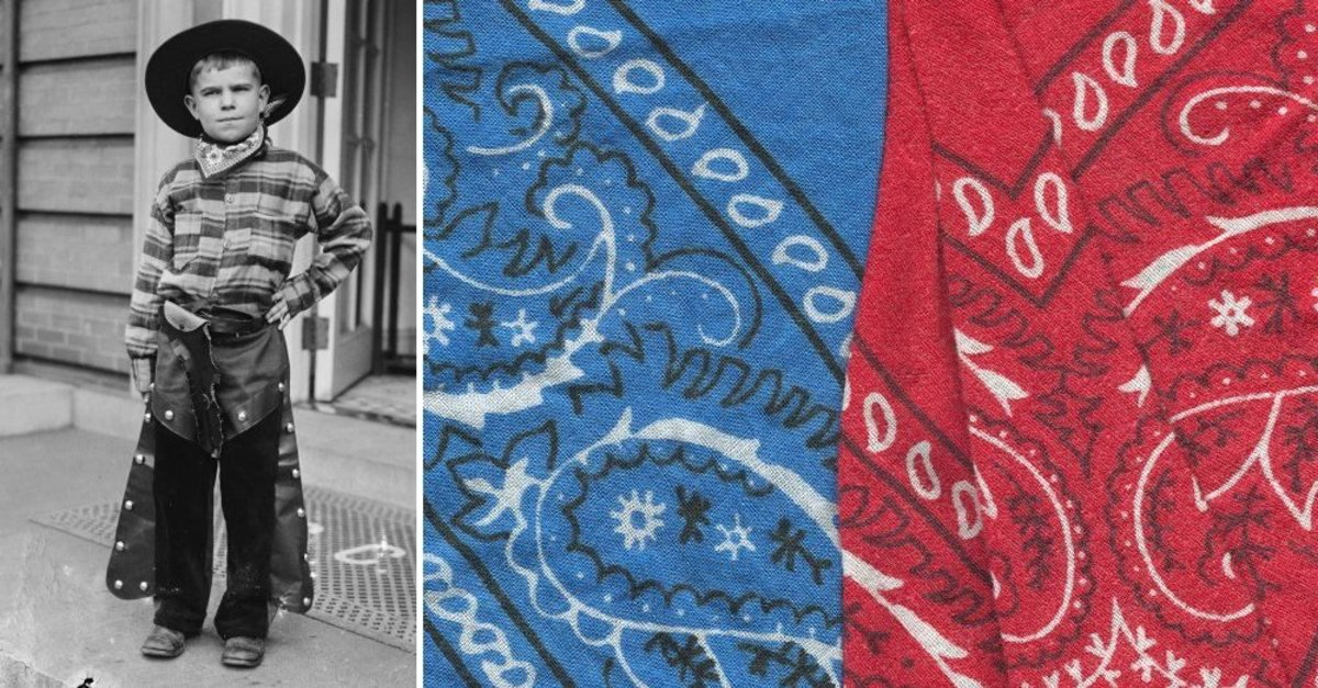 Todays Bandana Was Brought to Us By Centuries of Trade
