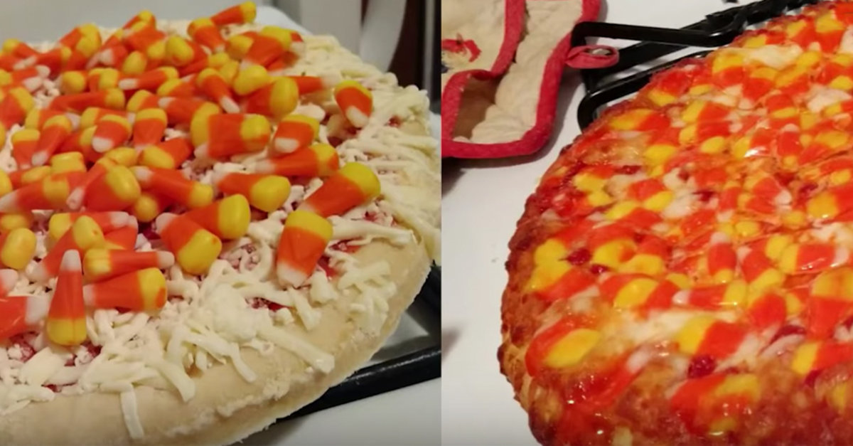 Candy Corn Pizza Is Here, Like It Or Not