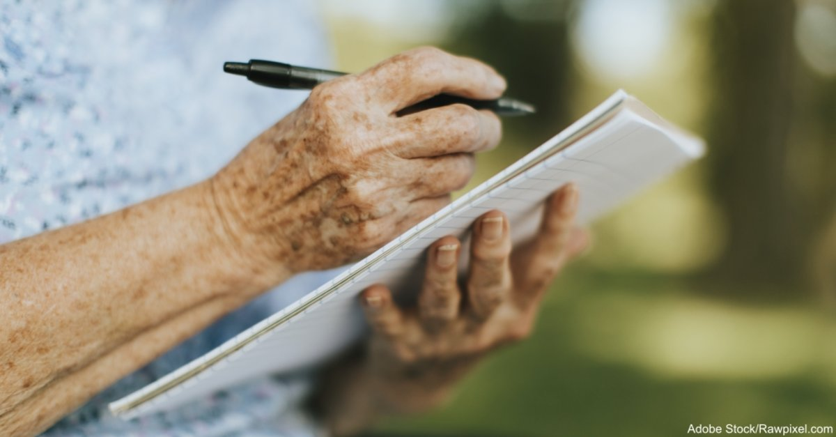 Changes in Writing Style May Help Predict Onset of Alzheimer's, Study Says