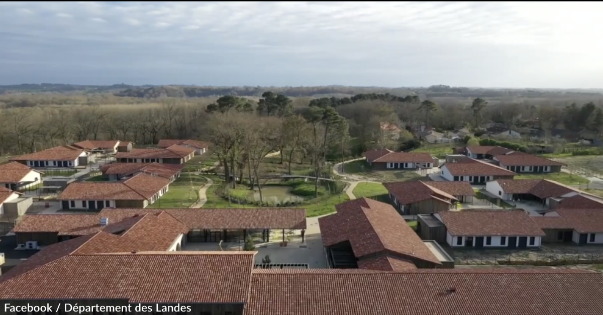 An Experimental French Village Built Entirely For People With Alzheimer's