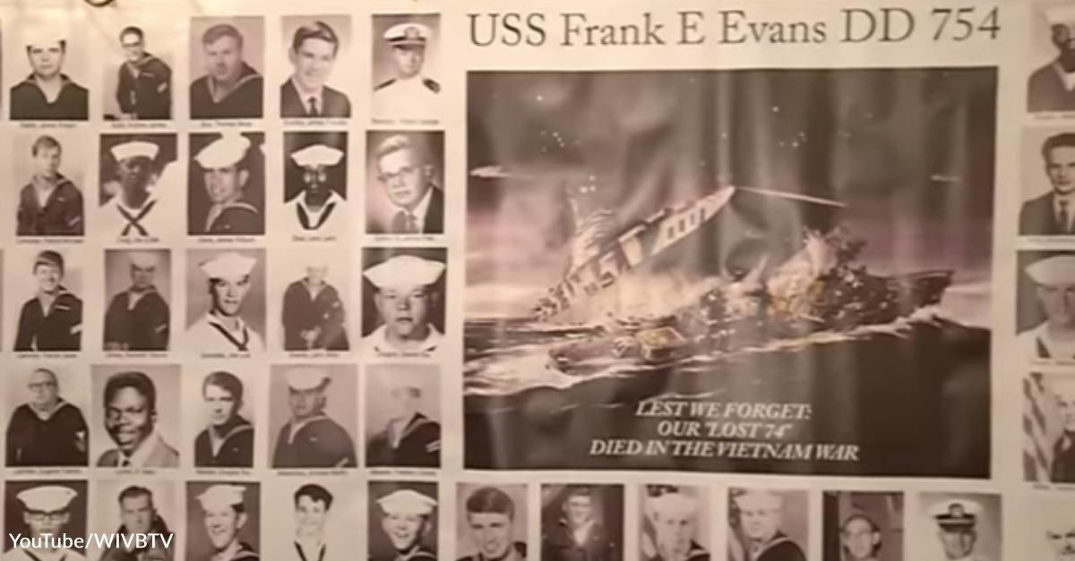 The Tragedy of the USS. Frank E. Evans: June 3, 1969