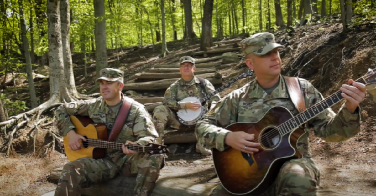 Pink Floyd's 'Wish You Were Here' Is Played Beautifully By A US Army Field Band