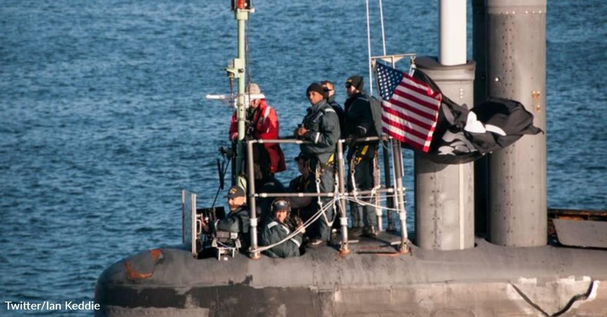 USS Jimmy Carter Flies Jolly Roger Coming Home to Joint Base Kitsap-Bangor In Washington State