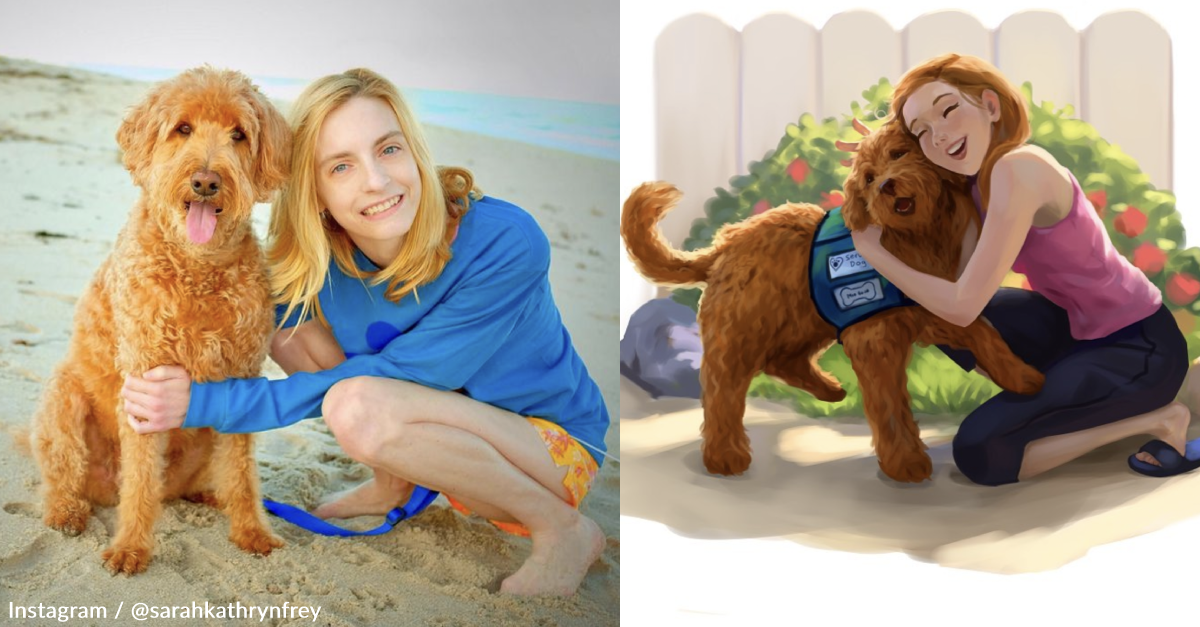 After Struggling With Chronic Illnesses Most of Her Life, This Author Wrote a Children's Book About Her Inspiring Service Dog