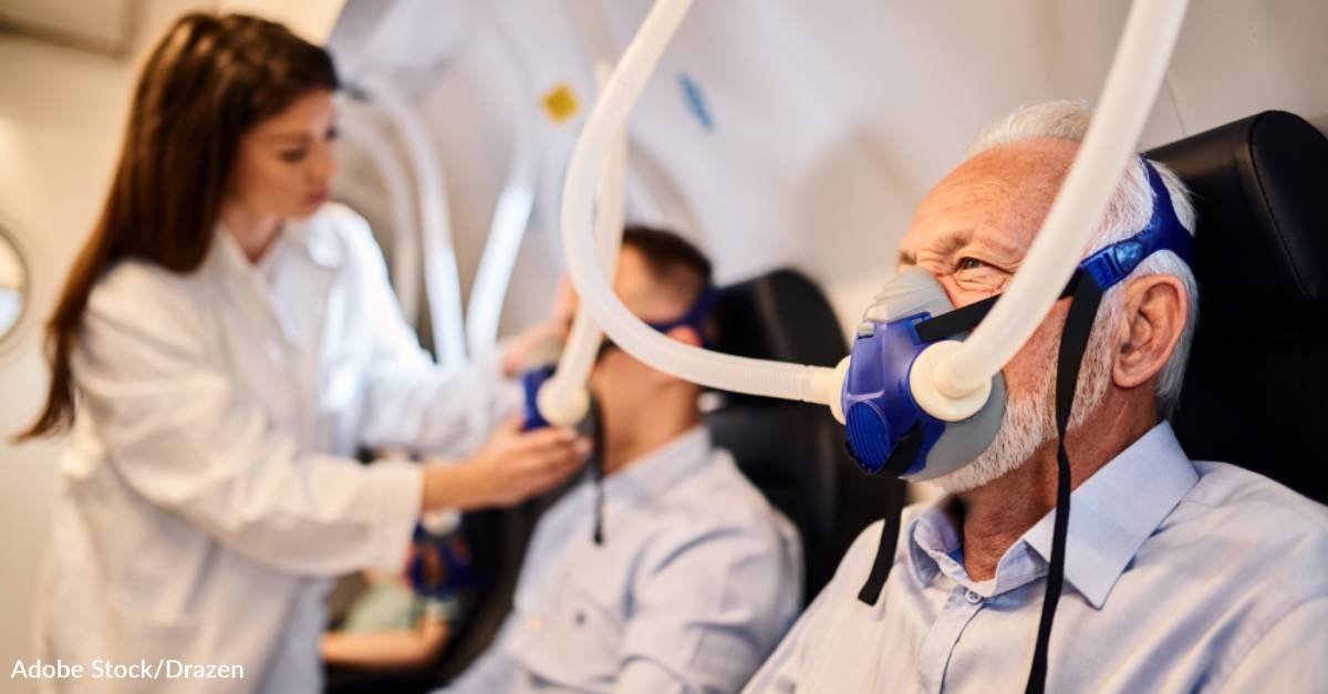Oxygen Therapy May Help Slow the Development of Alzheimer's