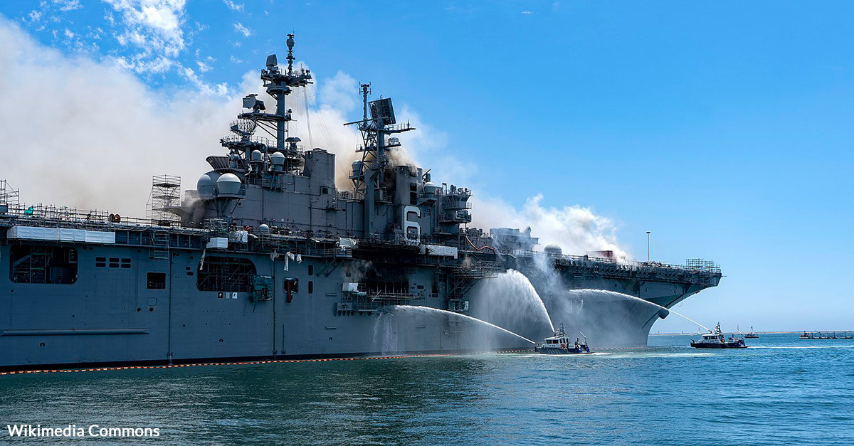The Final Service of The USS Bonhomme Richard