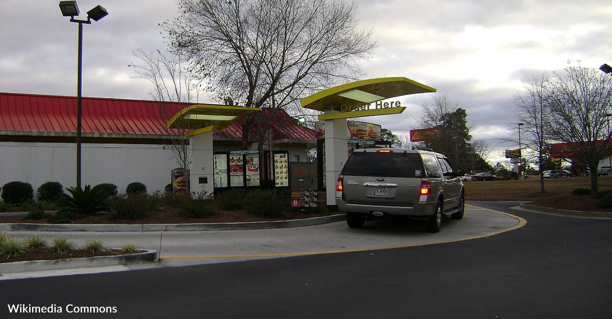 McDonald's Had Its First Drive Through Thanks To The Military In 1975