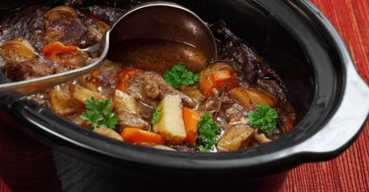 The Best Fix-It-And-Forget-It Beef Stew Recipe We've Ever Tasted