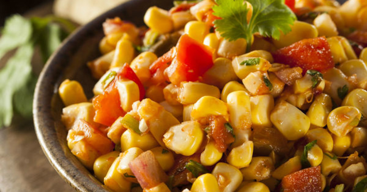 Appetizer Recipe: Spicy Corn Salsa – 12 Tomatoes