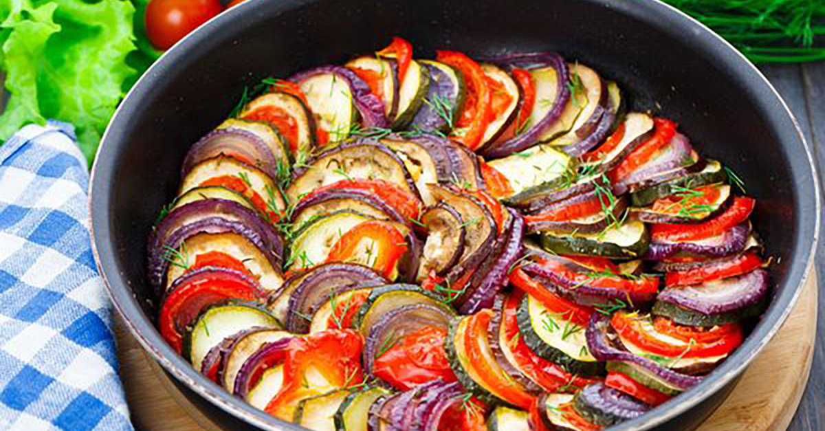 Vegan Recipe Ratatouille Casserole 12 Tomatoes
