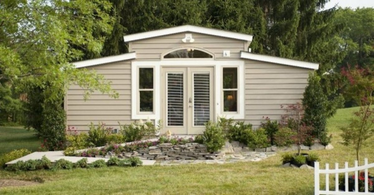 'Granny Pods' Are New Housing Units That Allow Your Aging Parents To Live In Your Backyard