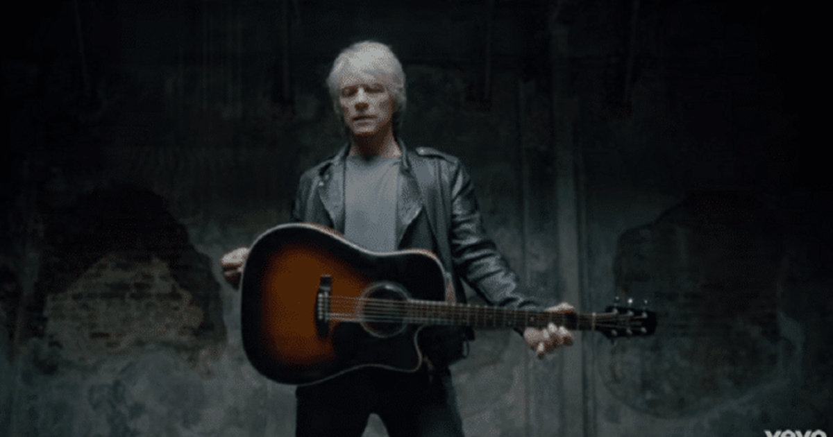 Bon Jovi Releases A New Song About The Impact Service Dogs Have On Veterans With PTSD