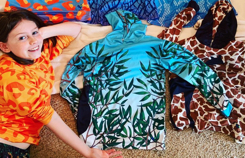Girl With Autism Creates Clothing Line To Save Endangered Animals